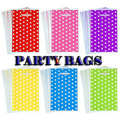 Personalise Wedding Favor Sweet Small Bags Birthday Candy Cart Striped Polka Dot