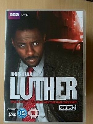 Idris Elba Luther Temporada 2~2011 BBC Británico TV Detective Series 2 Discos GB