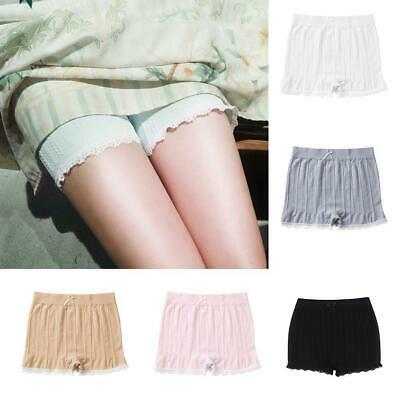 Anti-Chafing Lace Women Gifts Safety Shorts Pants Leggings Seamless Elastic Hot