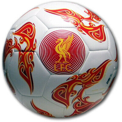 Authentic Liverpool FC Football Warrior Official Ball Premium 32 Panel Construct