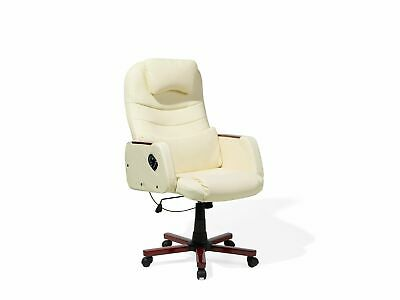Swivel Office Chair Beige CAPTAIN