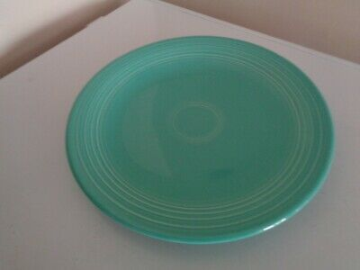 Contemporary Fiesta Ware 4 Turquoise 12 inch Dinner  Plates