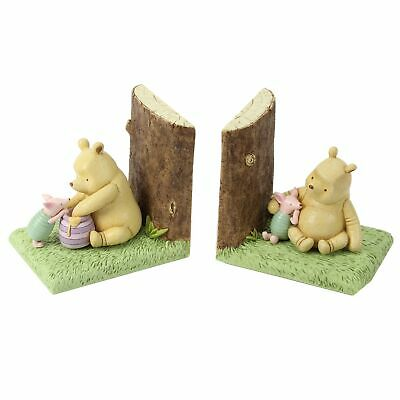 Set of 2 Winne The Pooh Bookends - Disney Classic Collection - Honey Piglet