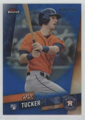 2019 Topps Finest Blue Refractor/150 #3 Kyle Tucker Houston Astros Rookie Card