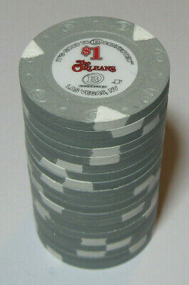 (20) 2019 Orleans Casino, Las Vegas. $1 poker gaming chips Paulson House Mold.