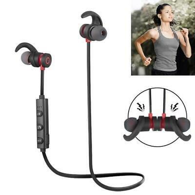 Wireless Bluetooth Earphone Magnetic Headphones Waterproof Sports Headset Stereo