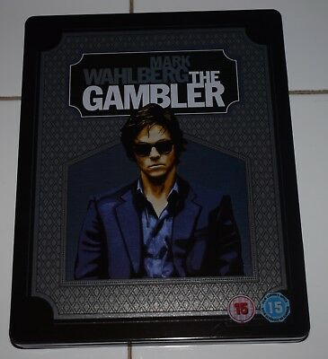 El Jugador (The Gambler) Blu Ray edicion Metalica Steelbook