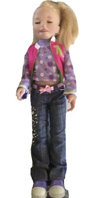 """VINTAGE PLAYMATE'S DOLL AMAZING ALLY INTERACTIVE BLONDE HAIR DOLL 20"""" Made 2006"""