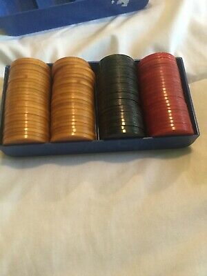 100 Catalin Bakelite Poker Chips