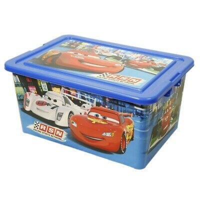Contenedor 35 L   Cars Neon Racers Cup