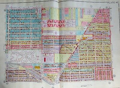 1930 Old Orchard Kenwood Gardens Toledo Ohio Radnor Park - Ottawa Park Atlas Map