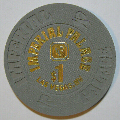 Imperial Palace Casino Hotel, Las Vegas. $1 poker gaming chip Paulson House Mold