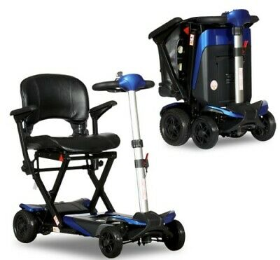 Solax Transformer Compact Travel Folding Mobility Scooter Free Shipping NEW