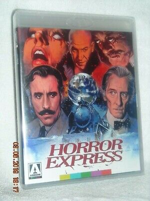 Horror Express [1972] (Blu-ray, 2019) NEW Christopher Lee Peter Cushin