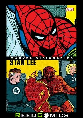 MARVEL VISIONARIES STAN LEE GRAPHIC NOVEL (336 Pages) New Paperback