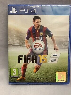 FIFA 15 for Sony PlayStation 4 Brand New & Sealed PS4