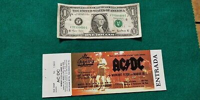 ACDC Maggie Bell 1981 TICKET Spain FREE SHIPPING WORLDWIDE WITH TRACKING