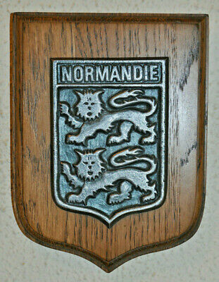 French Normandie wall plaque Normandy