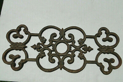 Vintage Cast Iron Architectural Salvage Ornate Wall Decor Hanging Wall Art