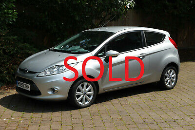 SOLD - Ford Fiesta 1.25 Zetec (80PS) 3 Door 2009 - low mileage + full history