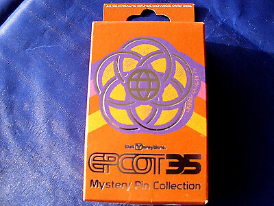 Disney * EPCOT 35 * New in Box  2-Pin Mystery Collection Box