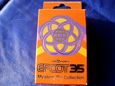 EPCOT 35 New in Box  2-Pin Mystery Collection Box Disney