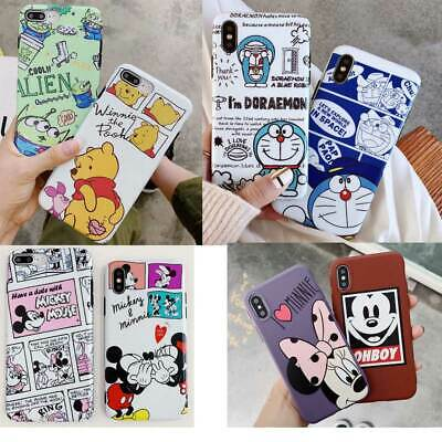 Funny Cartoon Cute Animal Phone Case Cover Shell For iPhone XR XS MAX 6 7 8 Plus