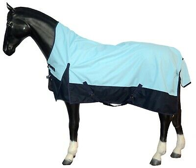 Shires Cow Print Lite Lightweight Standard Neck Turnout