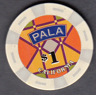 $1 Pala Casino Pala California House Chip