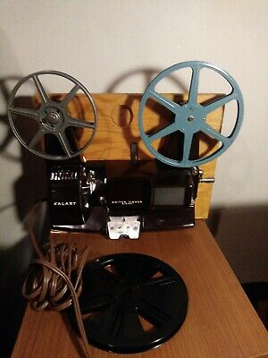 Vintage KALART EV-8 DS Editor Viewer Eight Splicer for 8mm Movies Films + Reels