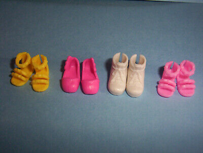 4 Pairs Of Chelsea Shoes  Barbie Doll (Doll Not Included)