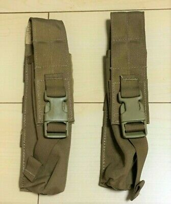 Set of 2 MOLLE Ground Illumination Flare Pouch Pop Up