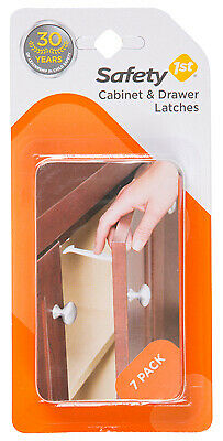 SAFETY 1ST/DOREL 7-Pack  Child Safety Wide Grip Latch 48444