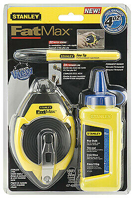 STANLEY CONSUMER TOOLS Fatmax Chalk Line & Level Set 47-681L