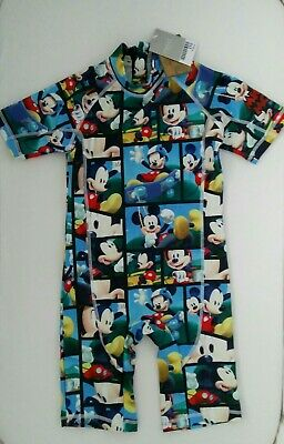 BNWT Next Boys Mickey mouse Sunsafe Suit Age 5-6 years
