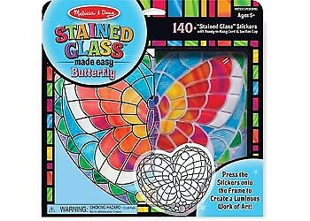 Melissa & Doug Stained Glass Made Easy - Butterfly MND9295