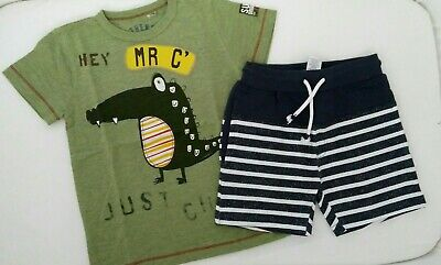 BNWT Next Boys T-shirt and Shorts Set Age 4-5 years