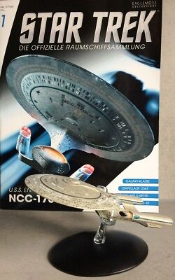 STAR TREK Official Starships Magazine #1 USS Enterprise NCC 1701 D Eaglemoss dt.