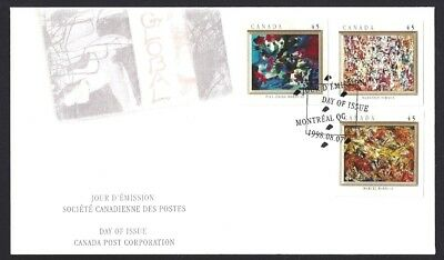 Canada    # 1747 - 1749       THE AUTOMATISTES       New 1998 Unaddressed