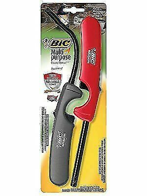 BIC Multi-Purpose Classic Edition Lighter & Flex Wand Lighter 2-Pack