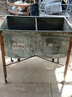 Antique Gavastine 2 Sink Tub