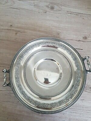 American Silver Plated Dish, Derby S. P. Co, c1900