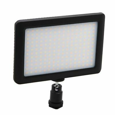 1X(12W 192 LED Studio Video Continuous Light Lamp For Camera DV Camcorder Bla pc