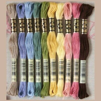 New DMC Floss Forrest Rainbow 10 Skeins - Free Shipping!!