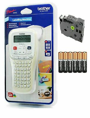 Brother P-Touch Handheld Thermal Label Printer PT-H101C System +Tape +Batteries