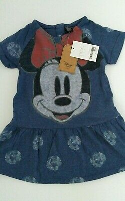 BNWT Next Baby Girl Minnie Mouse Dress Age 9-12 months