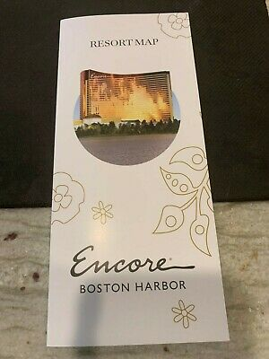 "The New """"Encore"""" Resort Casino @ Boston Harbor Resort Map"
