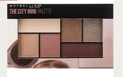 Maybelline The City Mini Palette Eyeshadow 410 CHILL BRUNCH NEUTRALS  New sealed