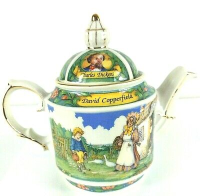 Sadler China Teapot Made in England Charles Dickens David Copperfield wsh