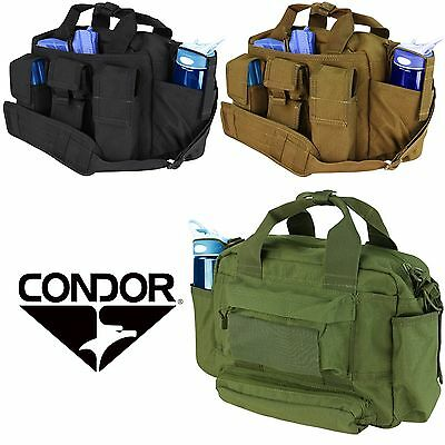 Condor 136 OD Green Tactical Response Bail Out Concealed Carry Pistol Range Bag
